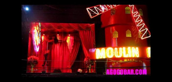 Moulin Rouge Dancer