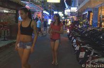 Nightlife in Soi 8 Pattaya 2014