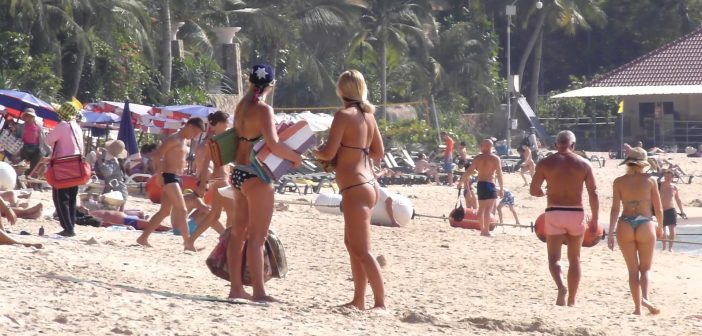 Pattaya Beach Scenes
