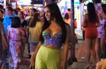 Pretty ladyboys in Walking Street Pattaya