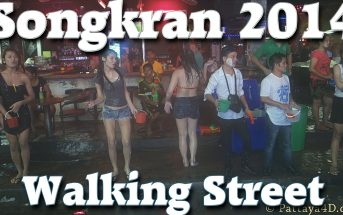Songkran 2014 Walking Street