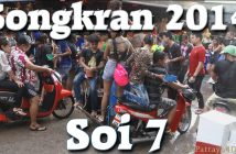 Songkran in Soi 7 2014